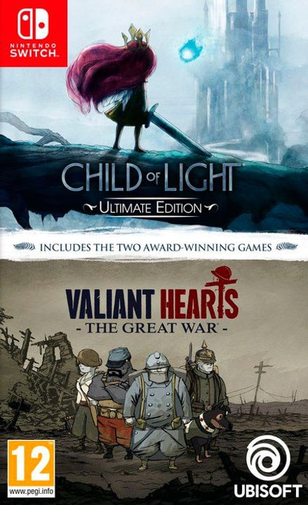 NSW - Child of Light Ultimate Edition + Valiant Hearts: The Great War Box 785300142515 N. figura 1