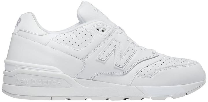 ML597 Chaussures de loisirs pour homme New Balance 462036541510 Couleur blanc Taille 41.5 Photo no. 1