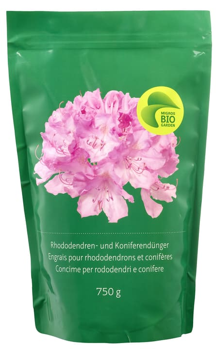 Engrais pour rhododendrons et coniféres Migros-Bio Garden 658228200000 Photo no. 1