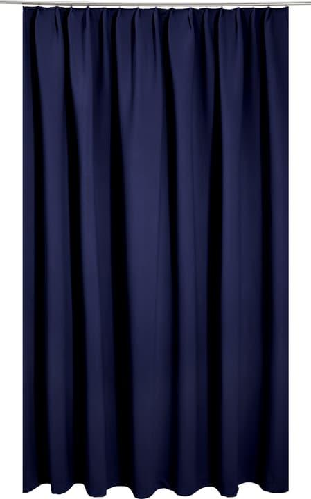 ALASKA Fertigvorhang lichtdicht 430231000043 Farbe Blau Grösse B: 140.0 cm x H: 245.0 cm Bild Nr. 1