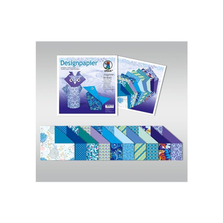 Designpapier Sapphire I AM CREATIVE 665544500020 Grösse L: 15.0 cm x B: 15.0 cm Bild Nr. 1