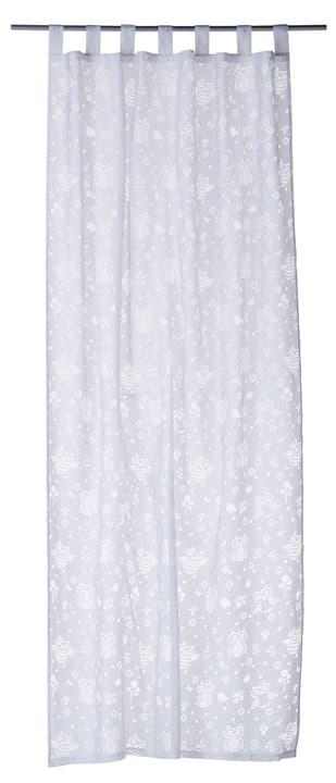 FABIA Rideau prêt à poser jour 430260120710 Couleur Blanc Dimensions L: 140.0 cm x H: 250.0 cm Photo no. 1