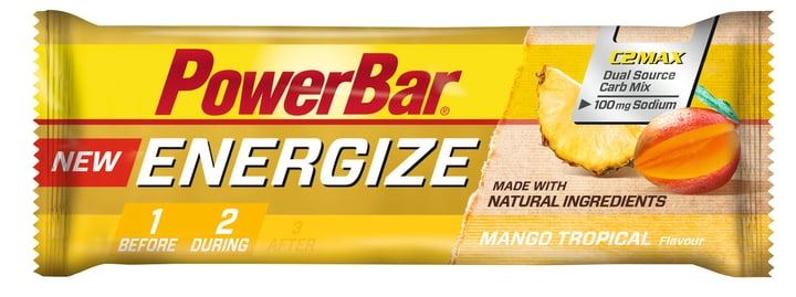 Energize Riegel Riegel Powerbar 471987404800 Goût Tropique-Mangue Photo no. 1