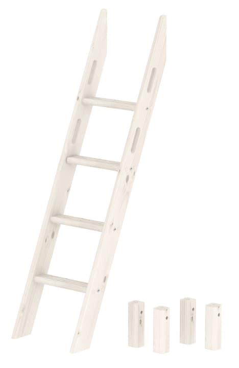 FLEXA CLASSIC Scaletta obliqua letto caso Flexa 404944700000 Dimensioni L: 44.0 cm x P: 63.0 cm x A: 153.0 cm Colore Bianco N. figura 1