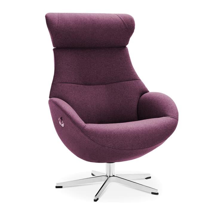 MEDIA Sessel 360039934907 Farbe Violett Grösse B: 78.0 cm x T: 80.0 cm x H: 112.0 cm Bild Nr. 1