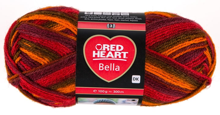 Lana Bella Red Heart 664747401005 Colore Multicolore N. figura 1