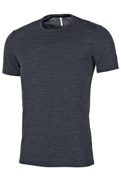 Anatomica SS Crewe t-shirt à manches courtes pour homme Icebreaker 477064100383 Couleur gris foncé Taille S Photo no. 1