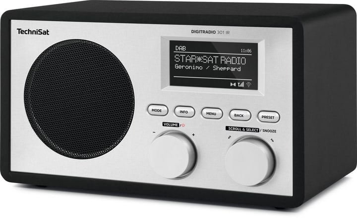Digitradio 301 IR - Nero Radio DAB+ Technisat 785300134718 N. figura 1