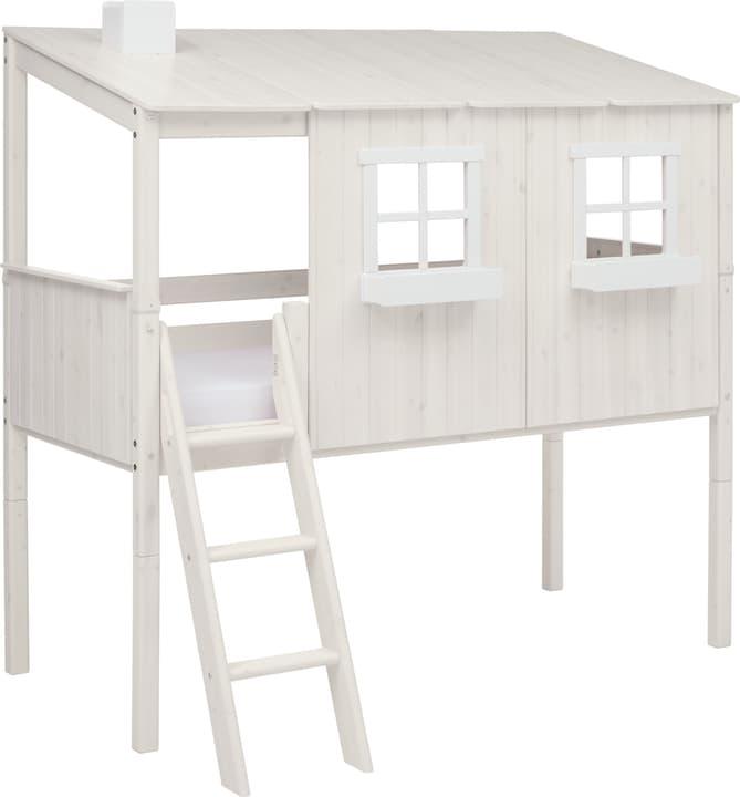 TREE HOUSE Maison entière avec un demi-haut Flexa 404985600000 Couleur White Wash Dimensions L: 149.0 cm x P: 210.0 cm x H: 198.0 cm Photo no. 1