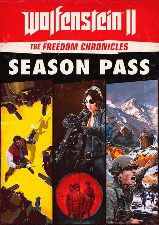 PC - Wolfenstein II: The Freedom Chronicles - Season Pass Download (ESD) 785300133789 N. figura 1
