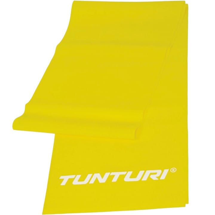 Resistance Band – Bande de gymnastique en caoutchouc jaune Tunturi 463070000000 Photo no. 1