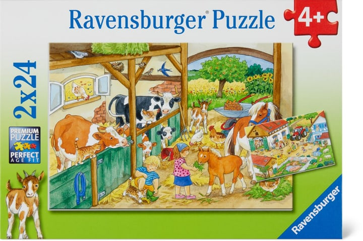 Fröhliches Landleben Ravensburger Puzzle 748976100000 Bild Nr. 1