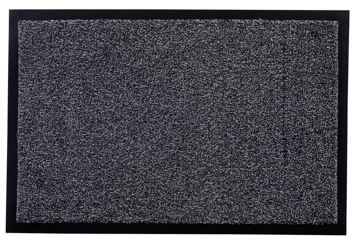BEAT paillasson 412830006081 Couleur noir Dimensions L: 60.0 cm x P: 90.0 cm Photo no. 1