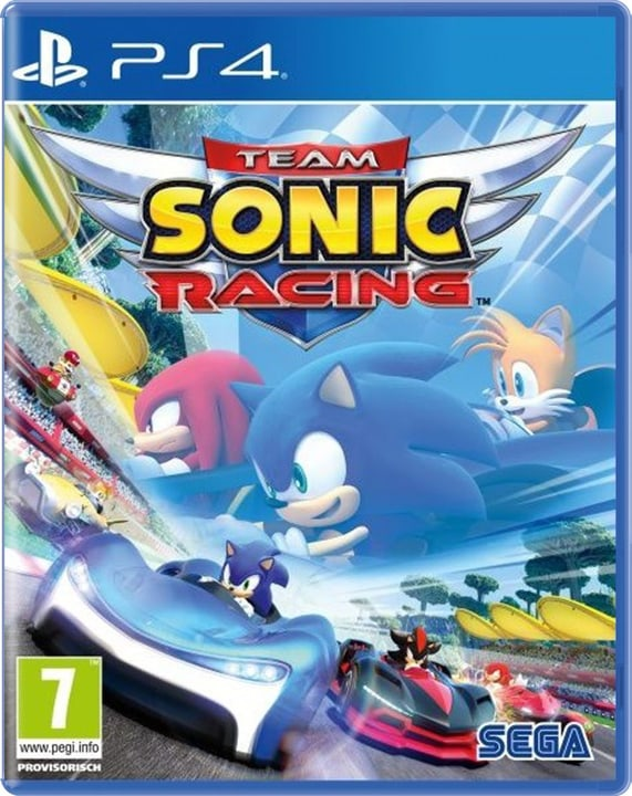 PS4 - Team Sonic Racing Box 785300138575 Langue Italien Plate-forme Sony PlayStation 4 Photo no. 1