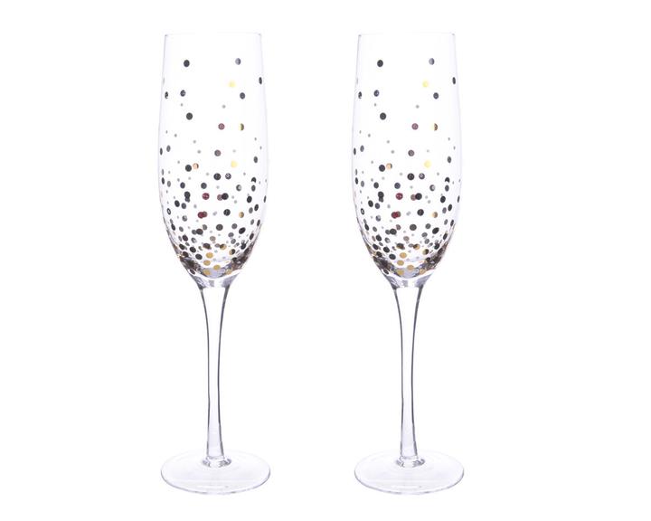 CHRISTMAS Champagnerglas-Set 444813200000 Bild Nr. 1