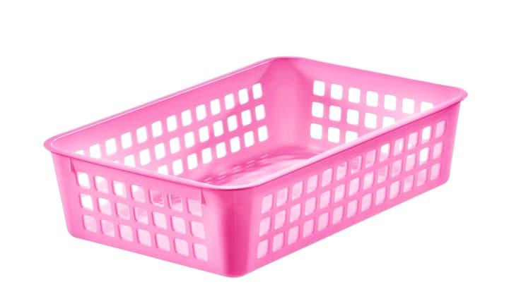 Basket rosa SmartStore 603710100000 Taglio L: 16.5 cm x L: 24.5 cm x A: 18.0 cm Colore Rosa N. figura 1