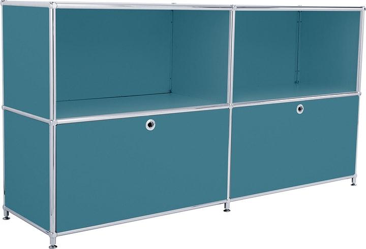 FLEXCUBE Sideboard 401809000066 Grösse B: 152.0 cm x T: 40.0 cm x H: 80.5 cm Farbe Petrol Bild Nr. 1