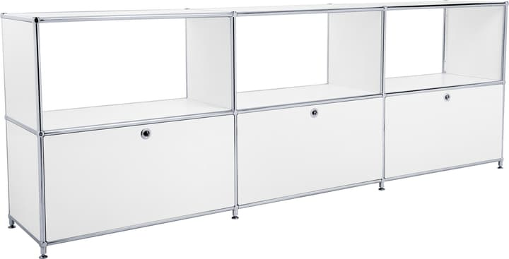 FLEXCUBE Buffet 401814630210 Dimensions L: 227.0 cm x P: 40.0 cm x H: 80.5 cm Couleur Blanc Photo no. 1