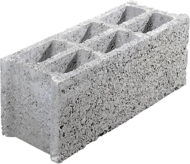 Blocco di calcestruzzo forato 18x50x19cm -  di 60 pezzi 647519800000 N. figura 1