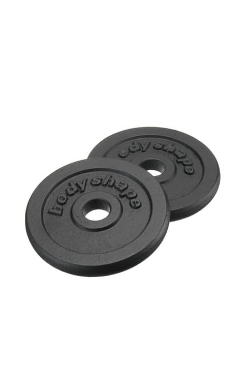 2 x 2\,5 kg Disques en fonte Bodyshape 491905800000 Photo no. 1