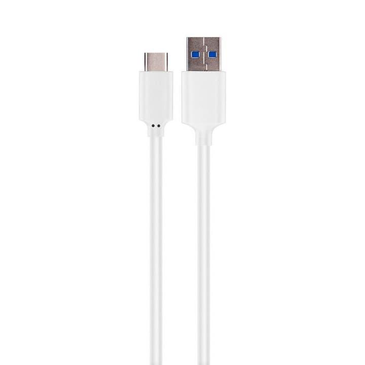 USB C 3.1 weiss Kabel XQISIT 798301400000 Bild Nr. 1