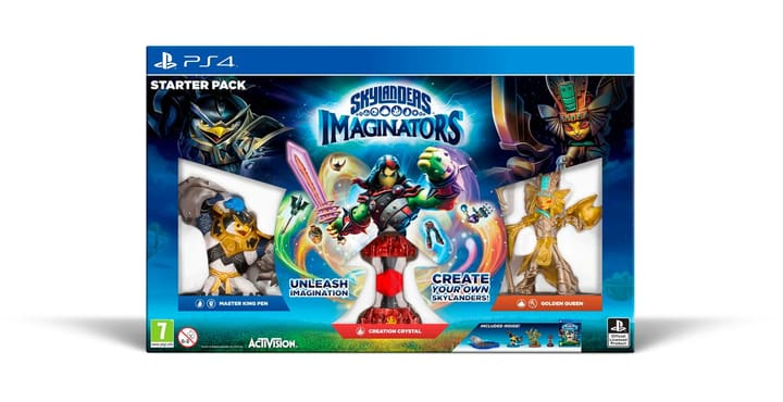 PS4 - Skylanders Imaginators Starter Pack Fisico (Box) 785300121339 N. figura 1