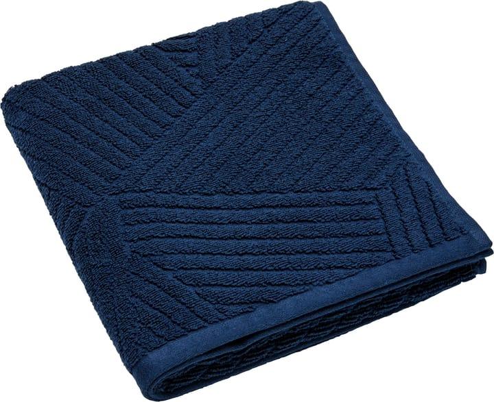 EMILIO telo per le mani 450876820443 Colore Blu Dimensioni L: 50.0 cm x A: 100.0 cm N. figura 1