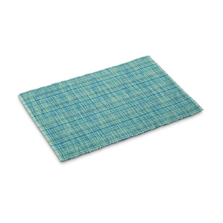 EZRA Tischset 378092500000 Farbe Türkis Grösse B: 48.0 cm x T: 33.0 cm Bild Nr. 1