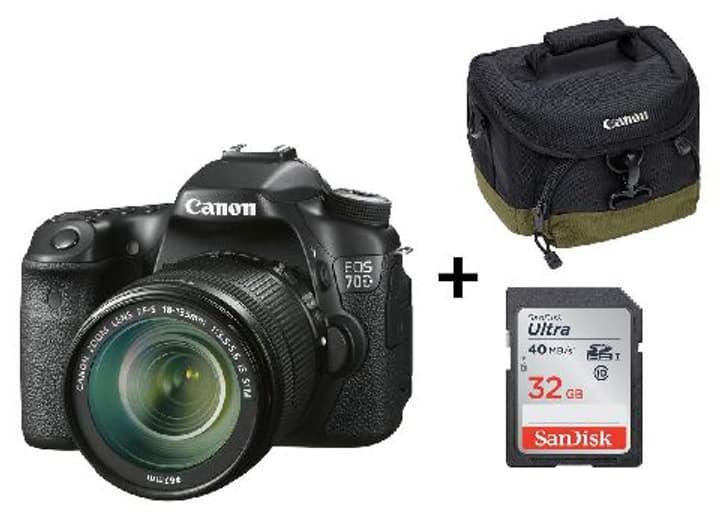 EOS 70D EF-S 18-135mm App. photo reflex Set (incl. sac + carte mémoire) Canon 793410700000 Photo no. 1