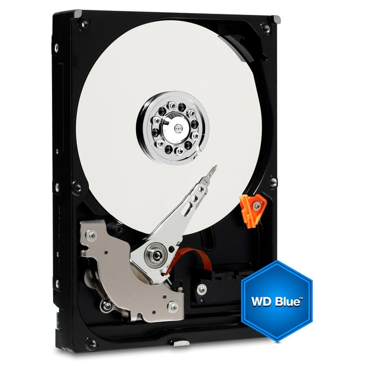 "Blue 500MB SATA 3.5"" 7200 HDD Intern Western Digital 785300126632 Bild Nr. 1"
