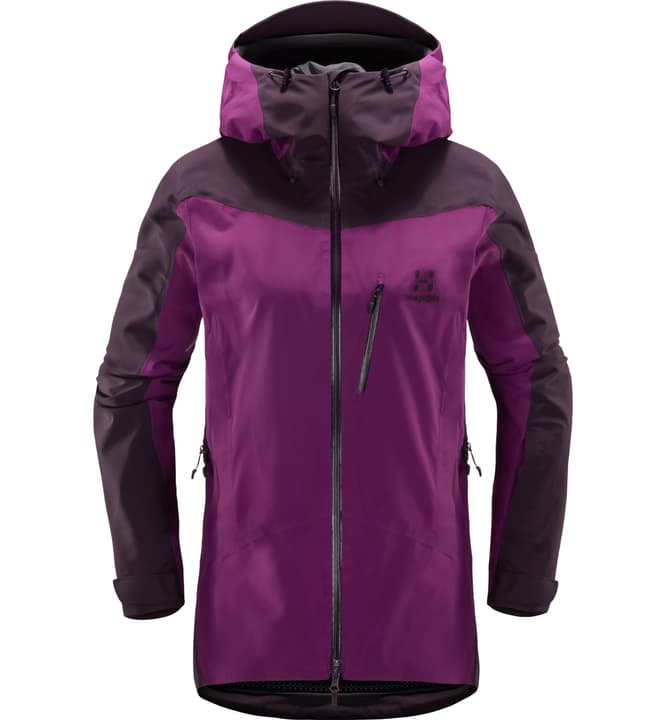 Niva Damen-Trekkingjacke Haglöfs 462792200345 Farbe violett Grösse S Bild-Nr. 1