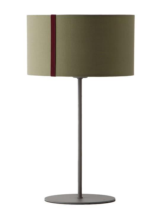 AMILCAR Lampe de table Edition Interio 380105100000 Dimensions L: 30.0 cm x P: 30.0 cm x H: 50.0 cm Couleur Olive Photo no. 1