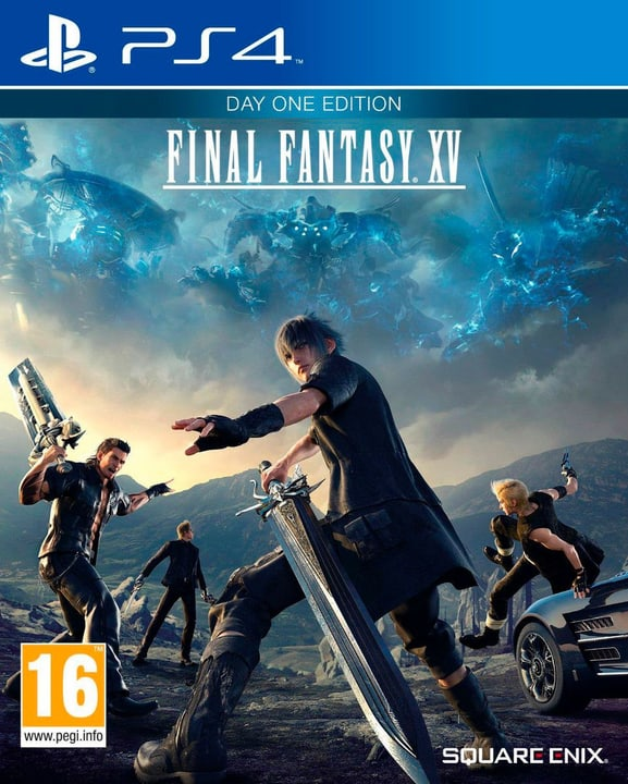 PS4 - Final Fantasy XV Day One Edition Physique (Box) 785300121127 Photo no. 1