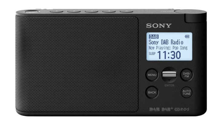 XDR-S41DB - Nero Radio DAB+ Sony 773022800000 N. figura 1
