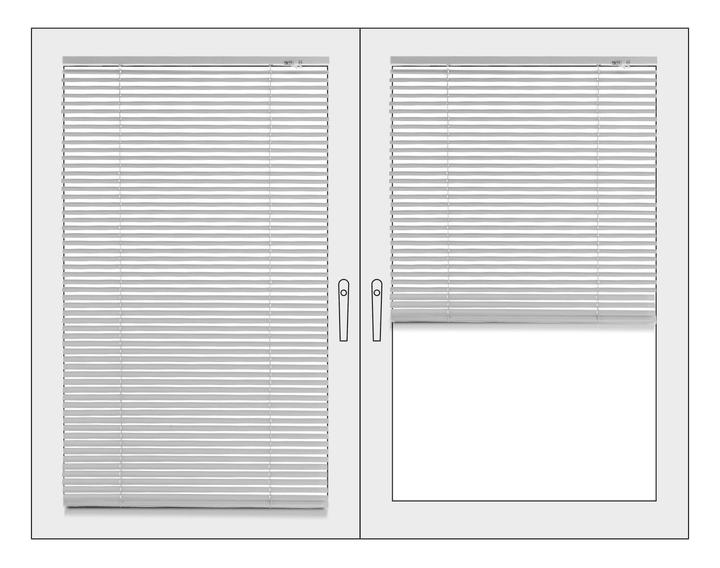 WEISS Store vénitien 430743400000 Couleur Blanc Dimensions L: 70.0 cm x P: 175.0 cm x H:  Photo no. 1