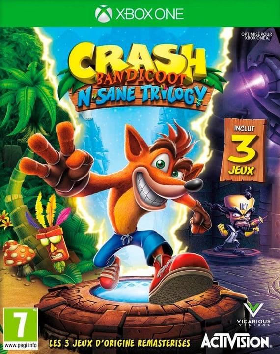 Switch - Crash Bandicoot N. Sane Trilogy Box 785300133507 Langue Français Plate-forme Microsoft Xbox One Photo no. 1
