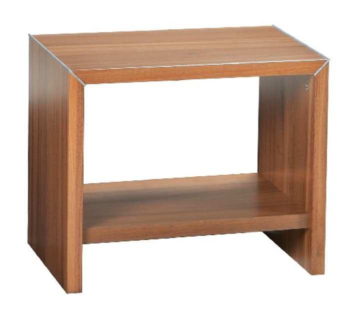 PERO Table de chevet HASENA 403128585234 Dimensions L: 45.0 cm x P: 35.0 cm x H: 38.0 cm Couleur Noyer Photo no. 1