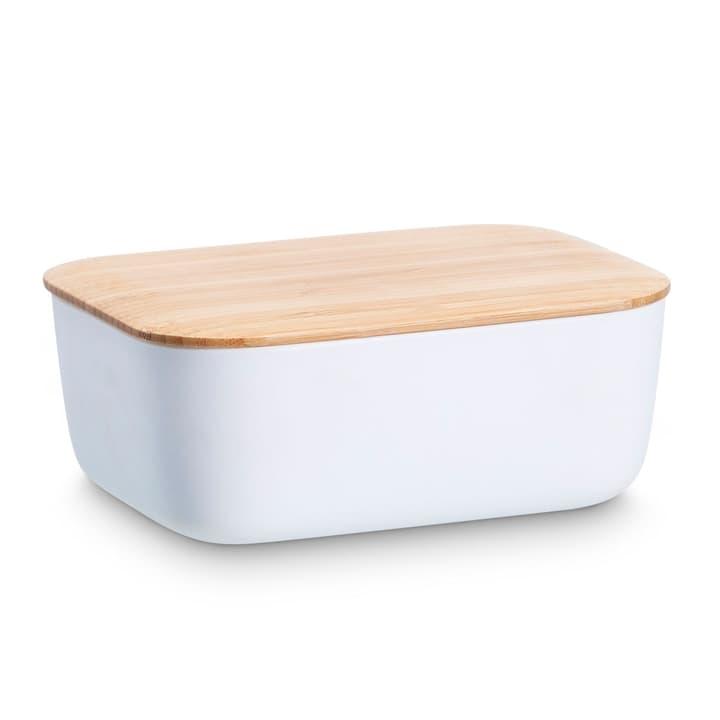 STEL boîte de beurre STELTON 393087500000 Dimensions L: 15.2 cm x P: 11.5 cm x H: 6.5 cm Couleur Blanc Photo no. 1