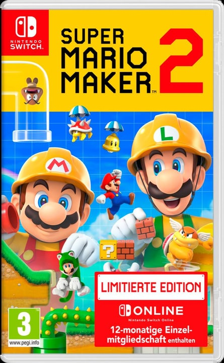 NSW - Super Mario Maker 2 Limited Edition Box Nintendo 785300144161 Langue Allemand Plate-forme Nintendo Switch Photo no. 1
