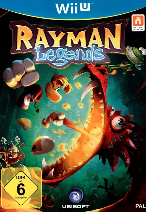 Wii U - Rayman Legends Box 785300121648 Bild Nr. 1