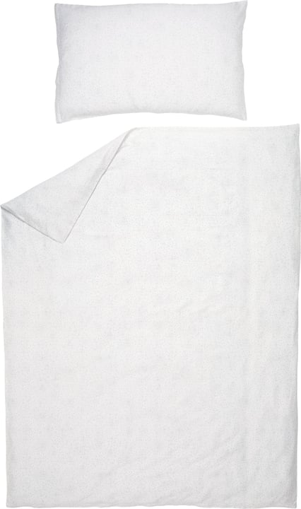JADEN Fourre de duvet en satin 451293112510 Couleur Blanc Dimensions L: 200.0 cm x H: 210.0 cm Photo no. 1