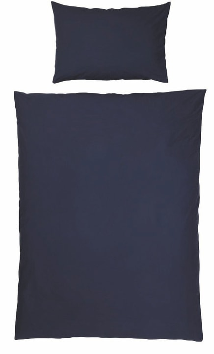 LINDRA Renforcé-Duvetbezug 451169312543 Farbe Dunkelblau Grösse B: 200.0 cm x H: 210.0 cm Bild Nr. 1