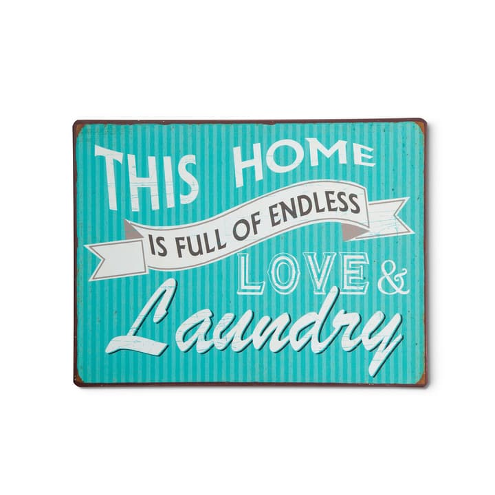 LOVE & LAUNDRY Tableautin 384016500000 Photo no. 1