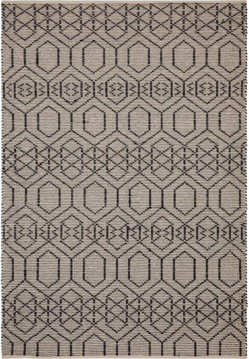 YANNIK Tappeto 412012316016 Colore nero Dimensioni L: 160.0 cm x P: 230.0 cm N. figura 1