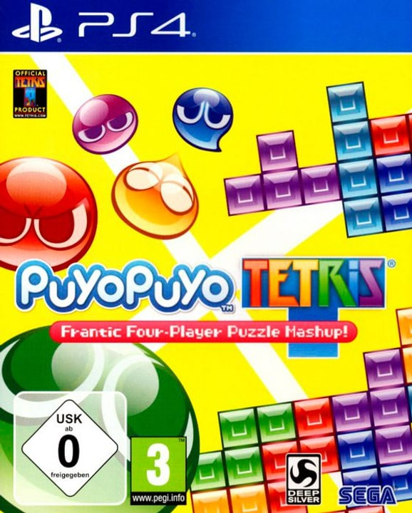 PS4 - Puyo Puyo Tetris Box 785300122055 Photo no. 1