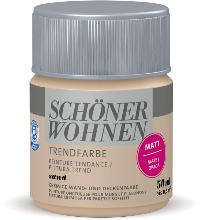 Vernice di tendenza opaca tester Sand 50 ml Schöner Wohnen 660908300000 Colore Sand Contenuto 50.0 ml N. figura 1