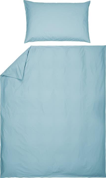 ROMANO Fourre de duvet en percale 451251312589 Couleur Bleu clair Dimensions L: 200.0 cm x H: 210.0 cm Photo no. 1