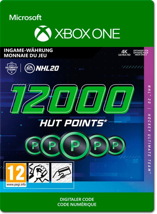 Xbox One - NHL 20 Ultimate Team: 12000 HUT Points Download (ESD) 785300147134 Photo no. 1