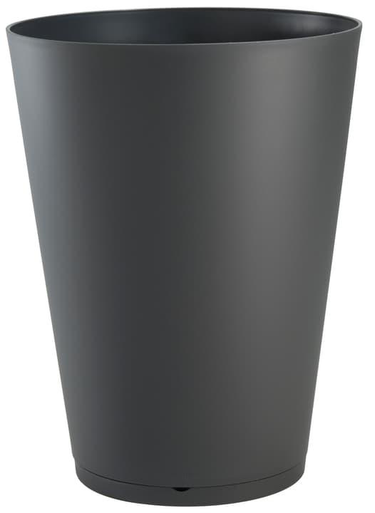 Vaso per piante Tokyo 40 cm Grosfillex 659663500000 Taglio ø: 40.0 cm x A: 49.8 cm Colore Antracite N. figura 1