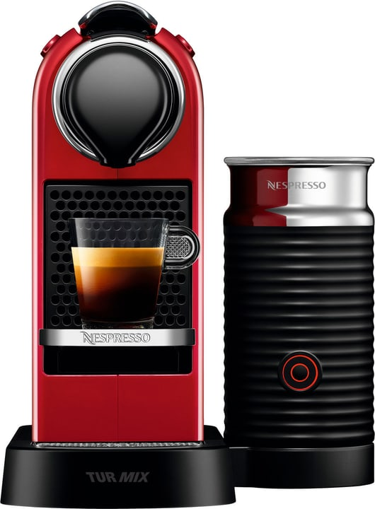 New Citiz & Milk TX275 Cherry Red Nespresso 717457900000 Photo no. 1